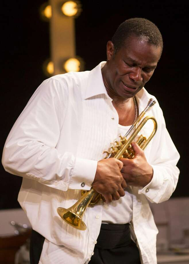 "John Douglas Thompson in ""Satchmo at the Waldorf"" Photo: T. Charles Erickson"