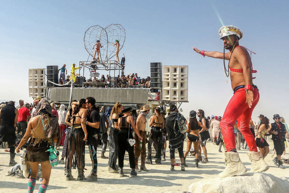Burning Man Activity List Sign Up For Naked Yoga Bourbon