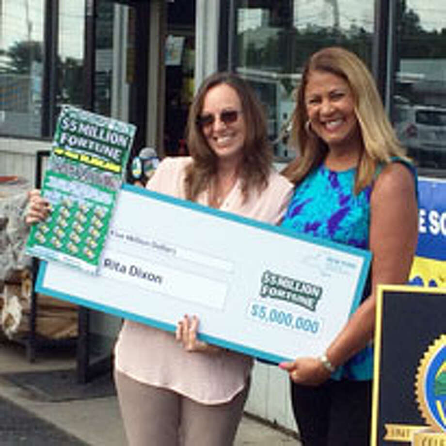 What would it be like to win a big Lottery prize? Click through for some Capital Region people who know the answer.Rita Dixon of Gansevoort, left, accepts her $5 million Lottery prize check from the state Lottery's Yolanda Vega on Thursday, Sept. 7, 2017, at the Xtra Mart on Saratoga Road in Fort Edward. Photo: State Lottery