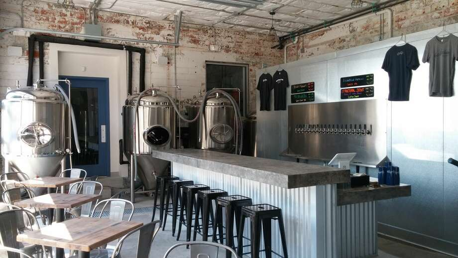 Houston's newest brewery, Baileson Brewing, is opening this weekend after its original opening party was scuttled due to Hurricane Harvey recovery efforts over Labor Day weekend. Photo: Adam Cryer
