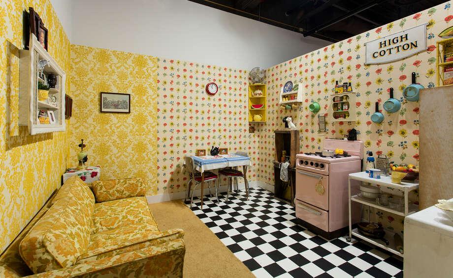 """Shotgun House,"" installation. Photo: Genevieve Gaignard / Shulamit Nazarian"