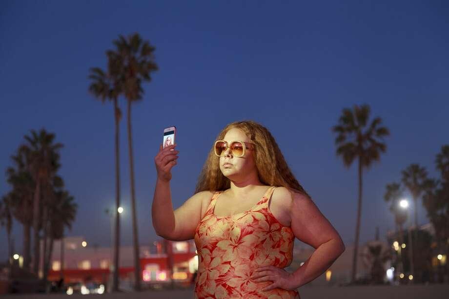 """Selfie,"" 2016, chromogenic print. Photo: Genevieve Gaignard / Shulamit Nazarian"