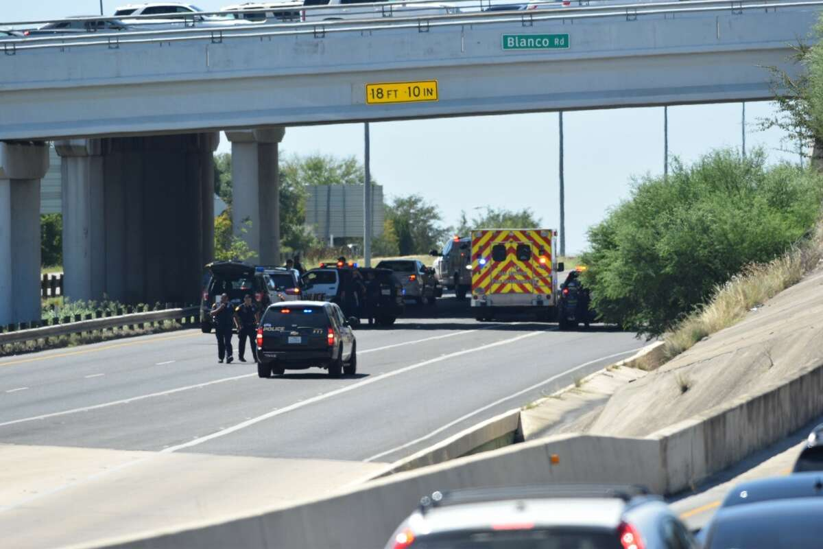 Both eastbound and westbound lanes of Loop 1604 at Blanco Road were closed Thursday, Sept. 7, 2017, after a fatal incident involving a pedestrian, authorities said.