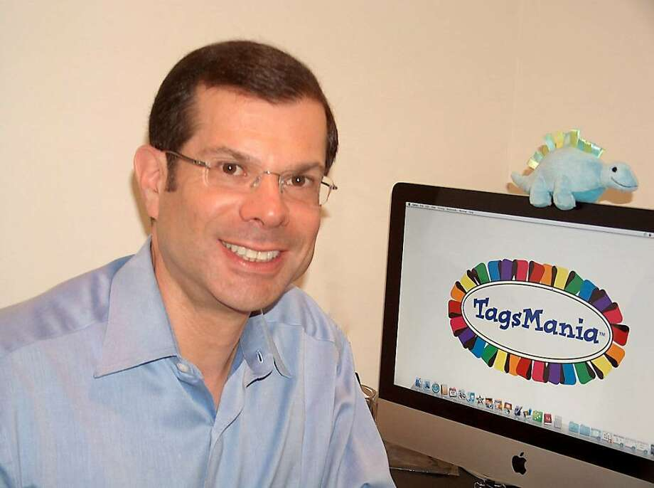 Westport resident Paul Oestreicher recently launched a new venture, TagsMania, a company that makes toys for infants, babies and toddlers. Photo: Contributed Photo / Westport News