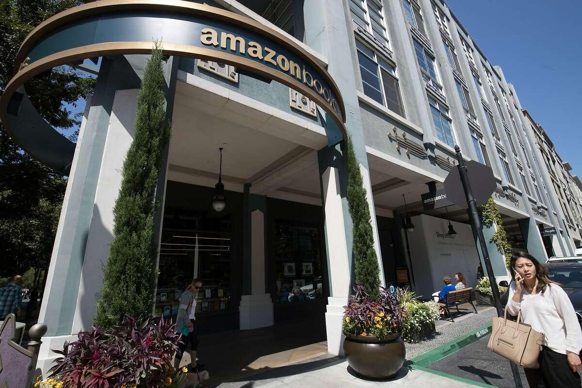 The new Amazon Books in Santana Row on Thursday, Aug. 24, 2017 in San Jose, CA.