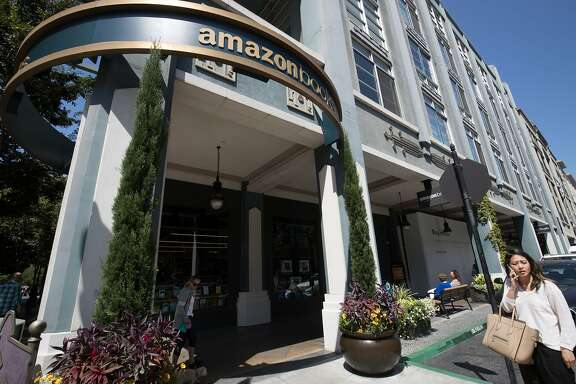 The new Amazon Books in Santana Row on Thursday, Aug. 24, 2017 in San Jose, CA.