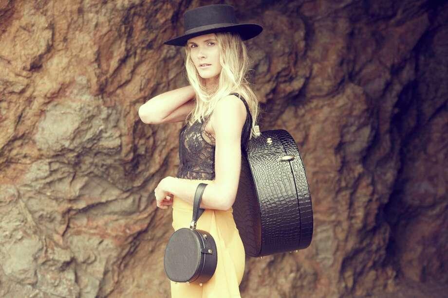 Freya is a new line of luxury hat cases. Photo: Karen Sayah