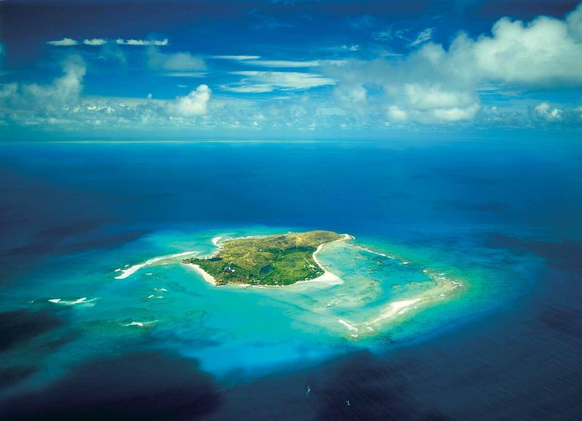 Necker Island is the British Virgin Island retreat belonging to billionaire entrepreneur Richard Branson.