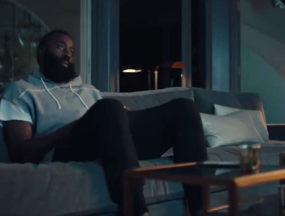 James Harden and Chris Paul teamed up in an EA Sports commercial for Madden 18. Photo: EA Sports