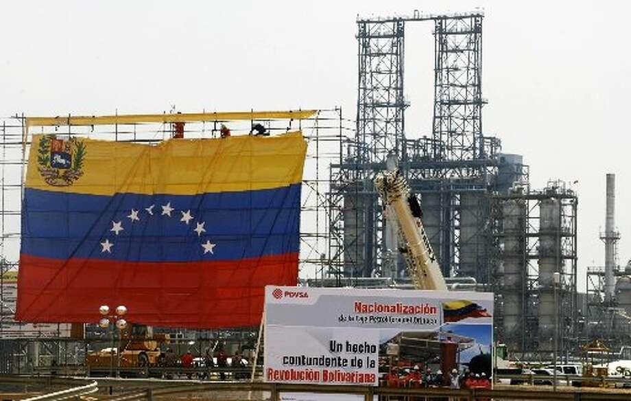 PDVSA plant in Barcelona, Venezuela. (File))