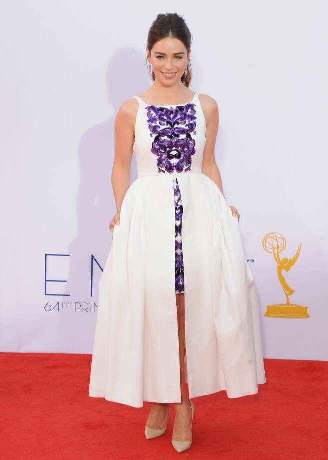 Hit: Emilia Clarke, 2012. Photo: Jon Kopaloff/FilmMagic