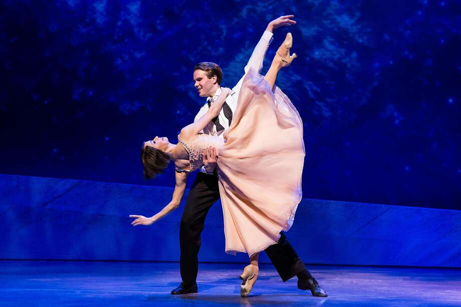 """From left:�Sara Esty and McGee Maddox in SHN's """"An American in Paris."""" Photo: Matthew Murphy, SHN"""