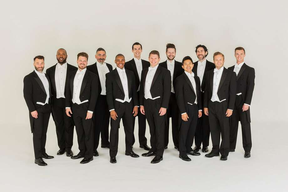 Chanticleer is also appearing Sunday, Sept. 17, in Sacramento. Photo: Chanticleer