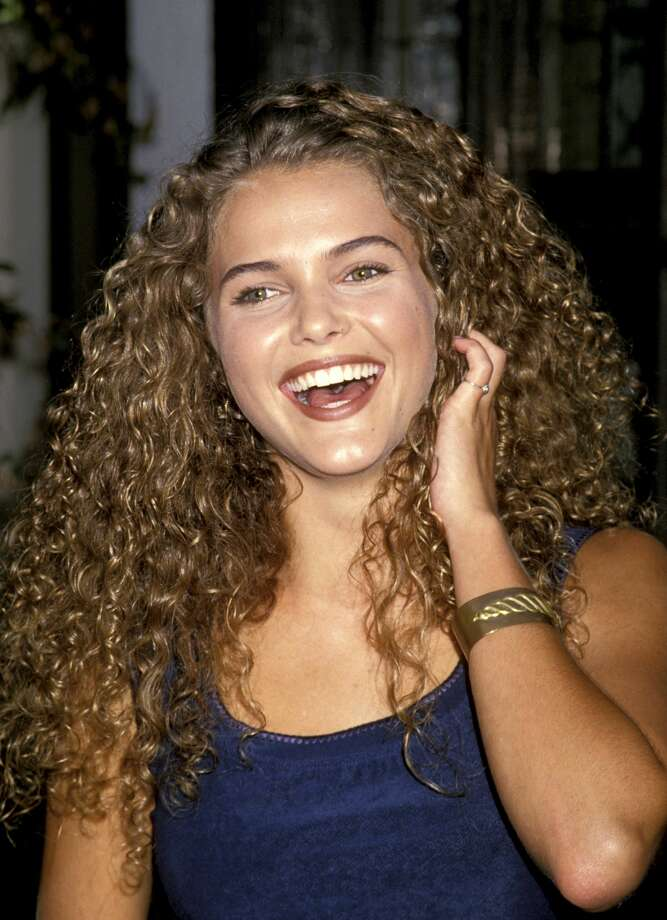 Then: Keri Russell at the Sheenway School in Beverly Hills in 1994. Photo: Jim Smeal/WireImage