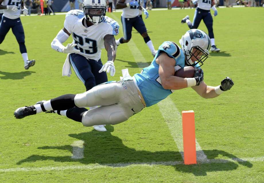 Christian McCaffrey has been an explosive presence for the Carolina Panthers in practices and preseason. The rookie debuts against the 49ers on Sunday. Photo: Mark Zaleski / AP / FR170793 AP