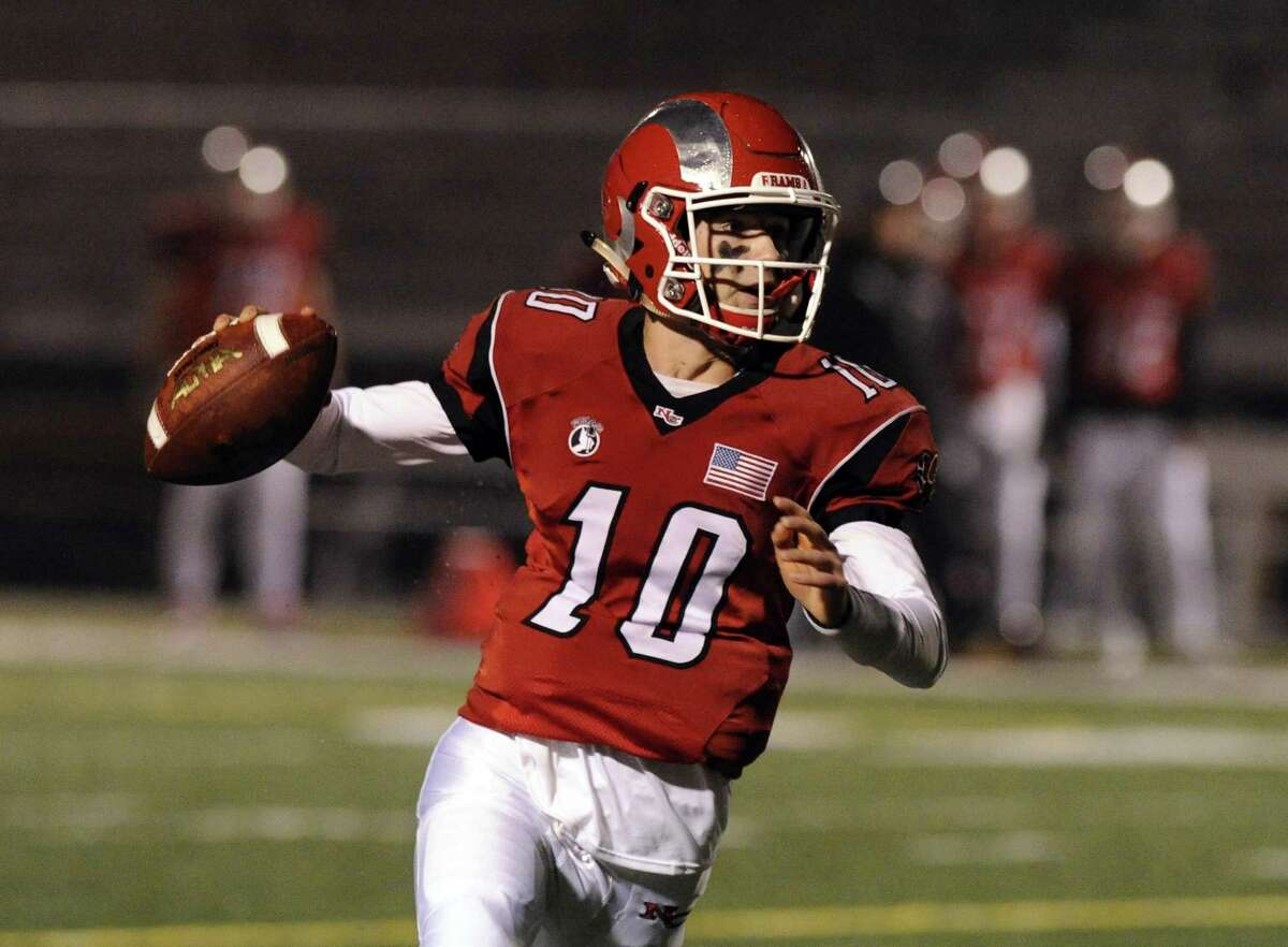 Highly touted quarterback Drew Pyne returns to lead New Canaan's offense.