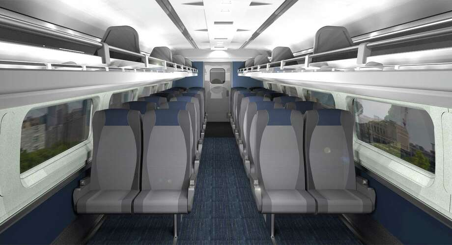 Courtesy Of Amtrak Rendering Of Refreshed Amfleet Coach Seat Cushions On  Board Select Northeast, Midwest