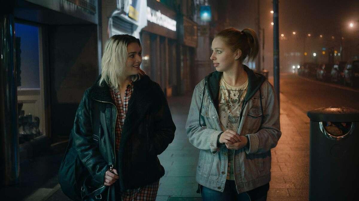 Mary (Se�na Kerslake, right) and Jess (Tara Lee) bond in the Irish film
