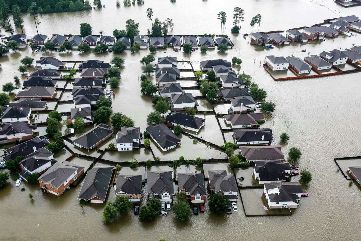 NOAA study finds Houstonu0027s 100 year floods have