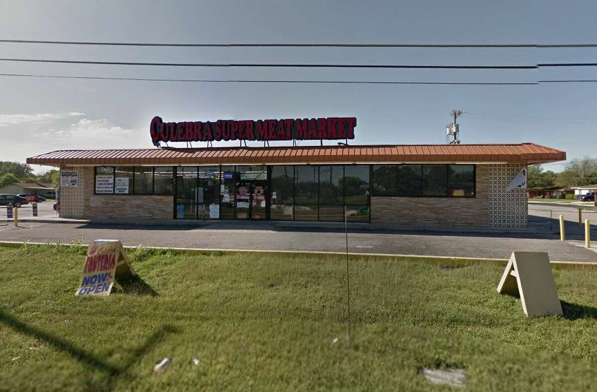 Culebra Super Meat Market #29: 4734 Rigsby, San Antonio, TX 78222 Date: 09/05/2017 Score: 78 Highlights: Food not held at correct temperature (beans, tripas, chicharron); knives must be properly sanitized; employees must wash hands with soap; employee seen handling ready-to-eat foods with bare hands; proper cooling methods must be used to cool cooked food items; ice machine must be cleaned; soap, paper towels must be provided at hand-washing sinks; walk-in freezer floors, walls must be in good condition; replace missing exhaust fan covers, floor drain covers.