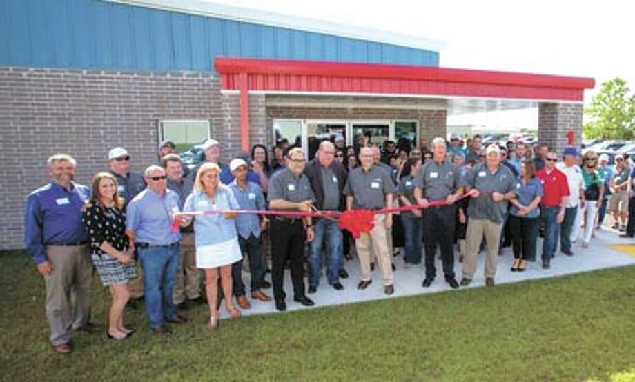 MEET and GREET You're invited to join Zedi's Midland staff for a grand  opening celebration Wednesday, September 20 from 4-8 p.m.—with a band,  barbecue and brew. The office is located between Midland and Odessa at  7907 W. Industrial. This photo is from a recent celebration at another  Zedi US location. Photo: Courtesy Photo