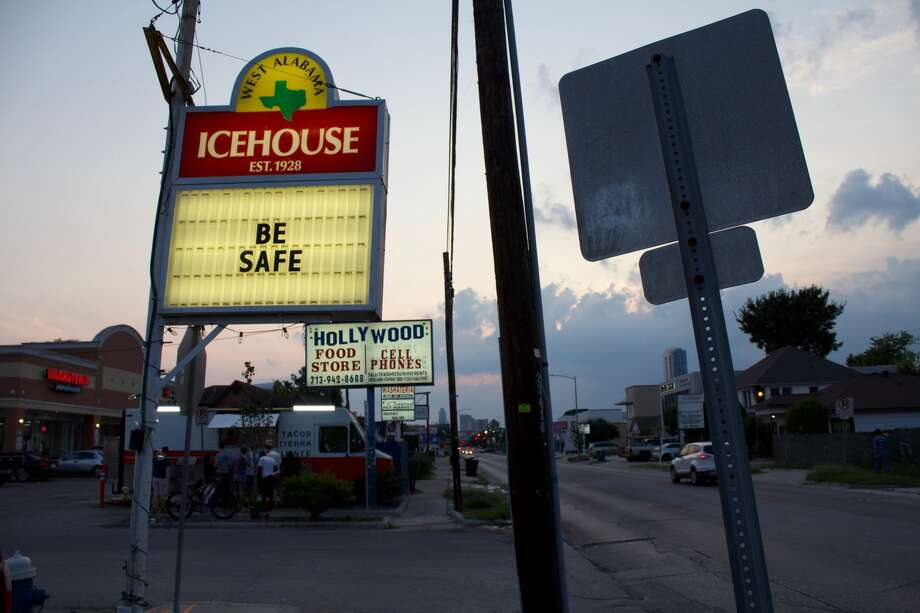 The West Alabama Ice House became a place where people could gather to process what had happened with Harvey. Photo: David Richmond