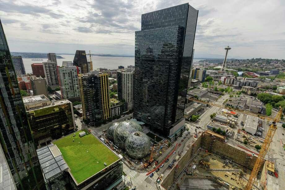 A view of Amazon's Seattle headquarters. Photo: Amazon