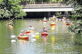 Kayakers and canoeists from Branford and surrounding communities will be out in force for the Branford Land Trust's annual Branford River Parade the morning of Sept. 16.