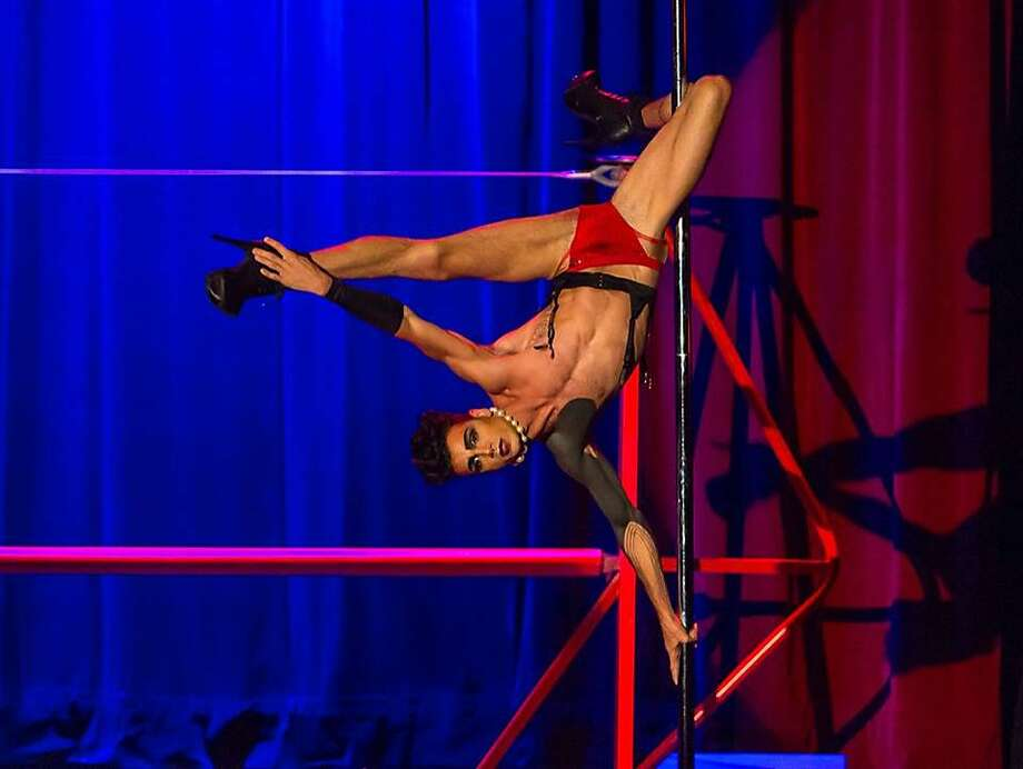 """The Vespertine Circus presents """"The Rocky Horror Circus Show."""" Pictured here is performer Reese Brindisi. Photo: Courtesy�Vespertine Circus"""