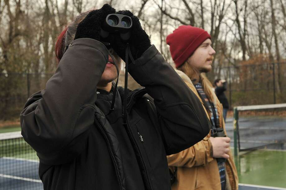 Volunteer birdwatchers will form teams to explore sections of the Norwalk River Valley Trail in Norwalk from 6 a.m. to midnight on Saturday, Sept. 16, 2017. Photo: Jason Rearick / Hearst Connecticut Media / Stamford Advocate