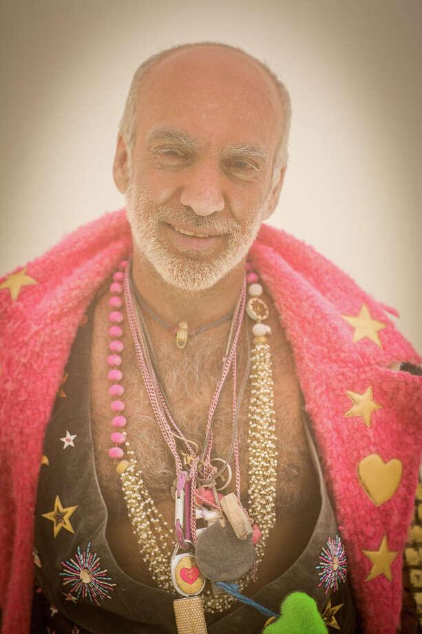 Indian fashion designer Manish Arora at Burning Man 2017. Photo: Sidney Erthal / Burning Man