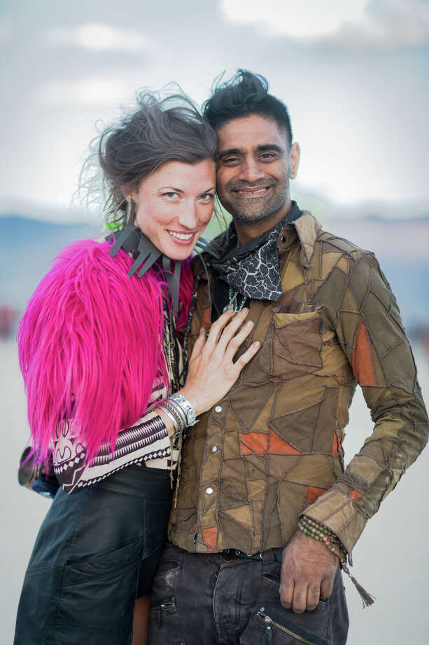 Participants at Burning Man 2017. Photo: Sidney Erthal / Burning Man