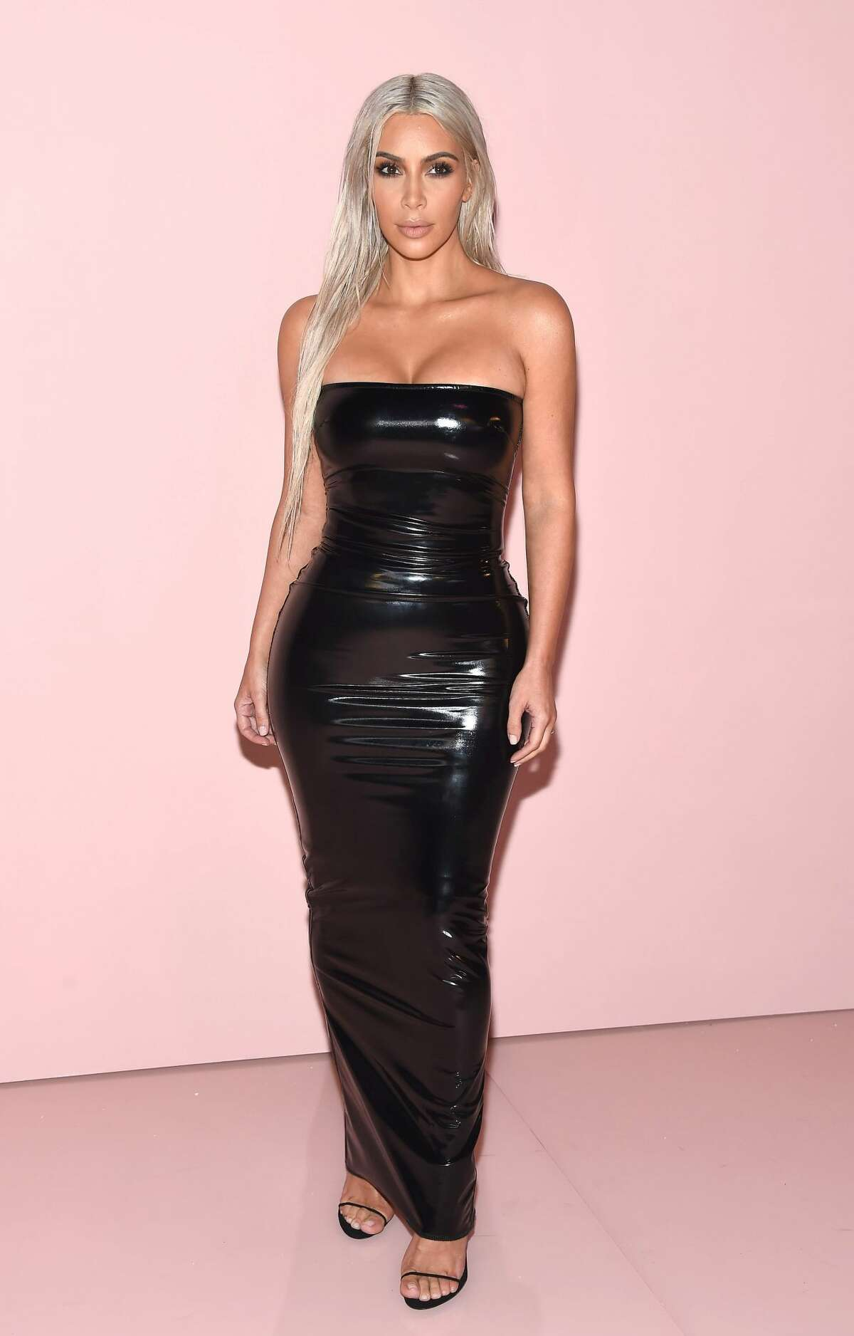 Kim Kardashian attends the Tom Ford fashion show during New York Fashion Week on September 6, 2017. Keep clicking to Kim K's most shocking looks.