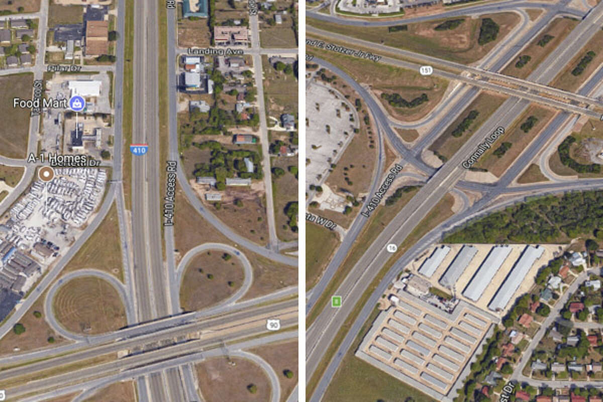 Current until Saturday, Sept. 309 a.m. to 4 p.m. daily410 between Hwy 90 and Hwy 151Frontage roads, both directions, between US 90 and Hwy 151. Alternating lanes will close while crews do road work.