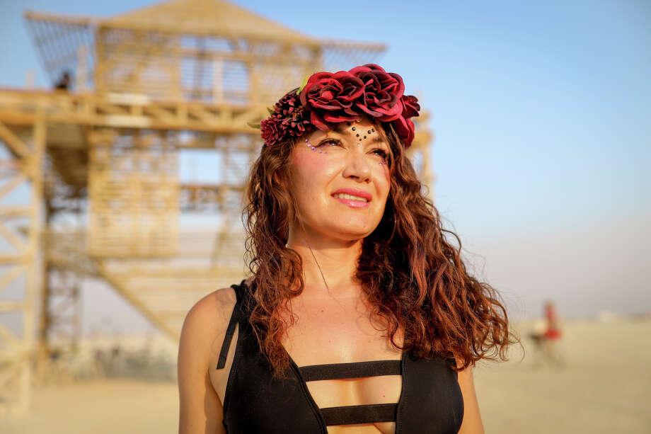 Veronica Sosa at Burning Man 2017. Photo: Courtesy Jane Hu