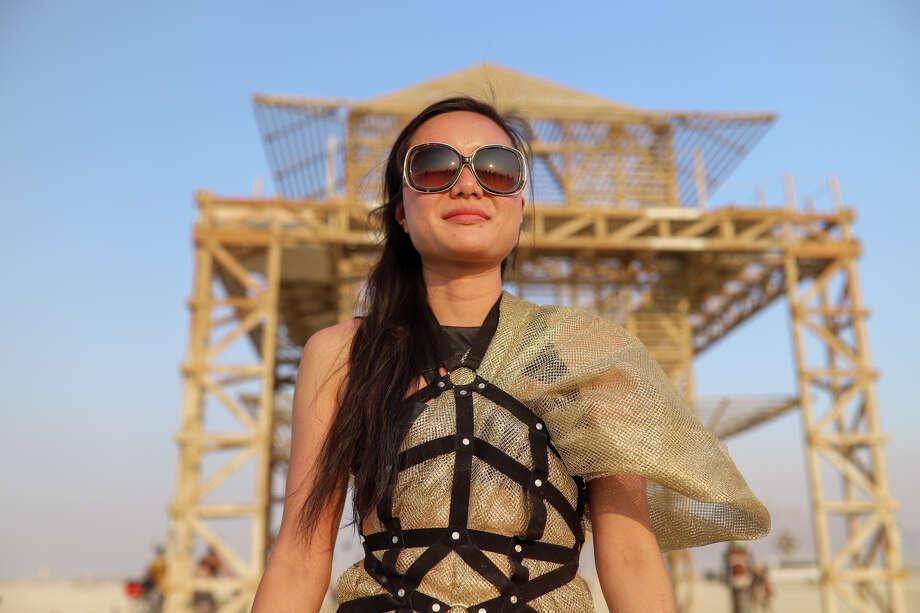 Ja-Mei Or at Burning Man 2017. Photo: Courtesy Jane Hu
