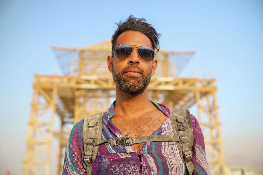 Hiram Preston at Burning Man 2017. Photo: Courtesy Jane Hu