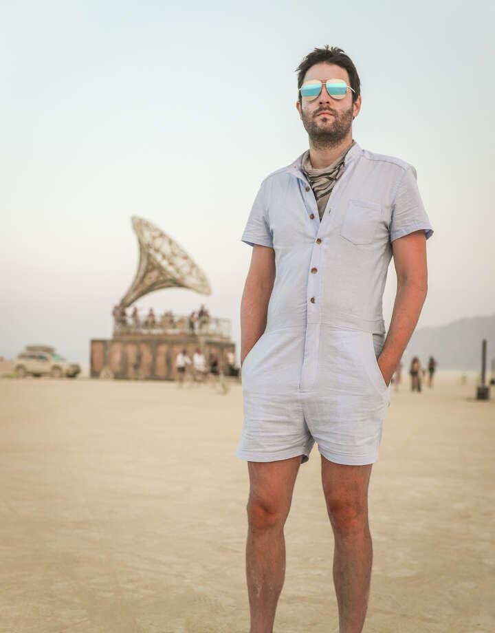 David Stewart at Burning Man 2017. Photo: Courtesy Jane Hu