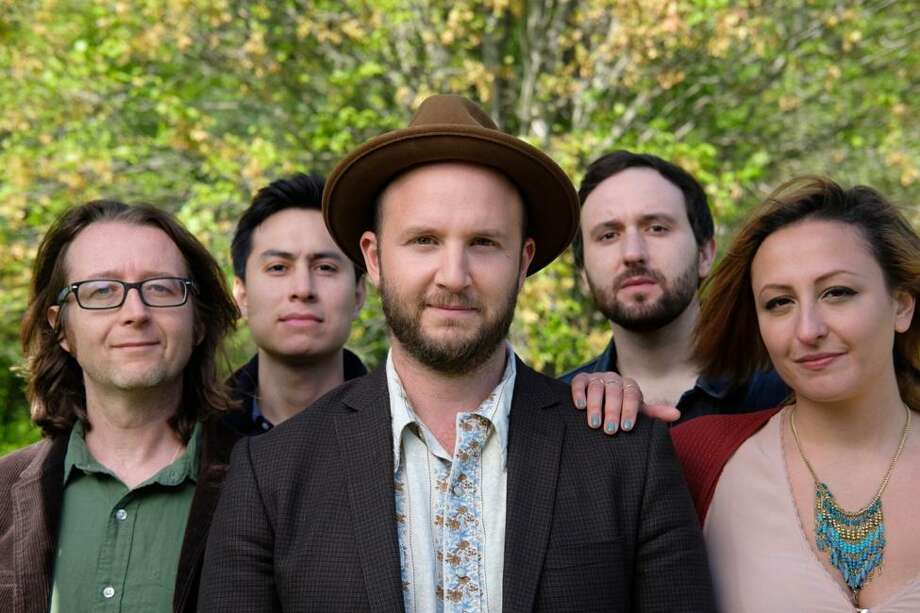 The Alternate Routes will perform at Infinity Music Hall in Hartford on Saturday, Sept. 16. From left are Eric Donnelly, Kurt Leon, Tim Warren, Ian Tait and Taryn Chory. Photo: Jenna Pace / Contributed Photo