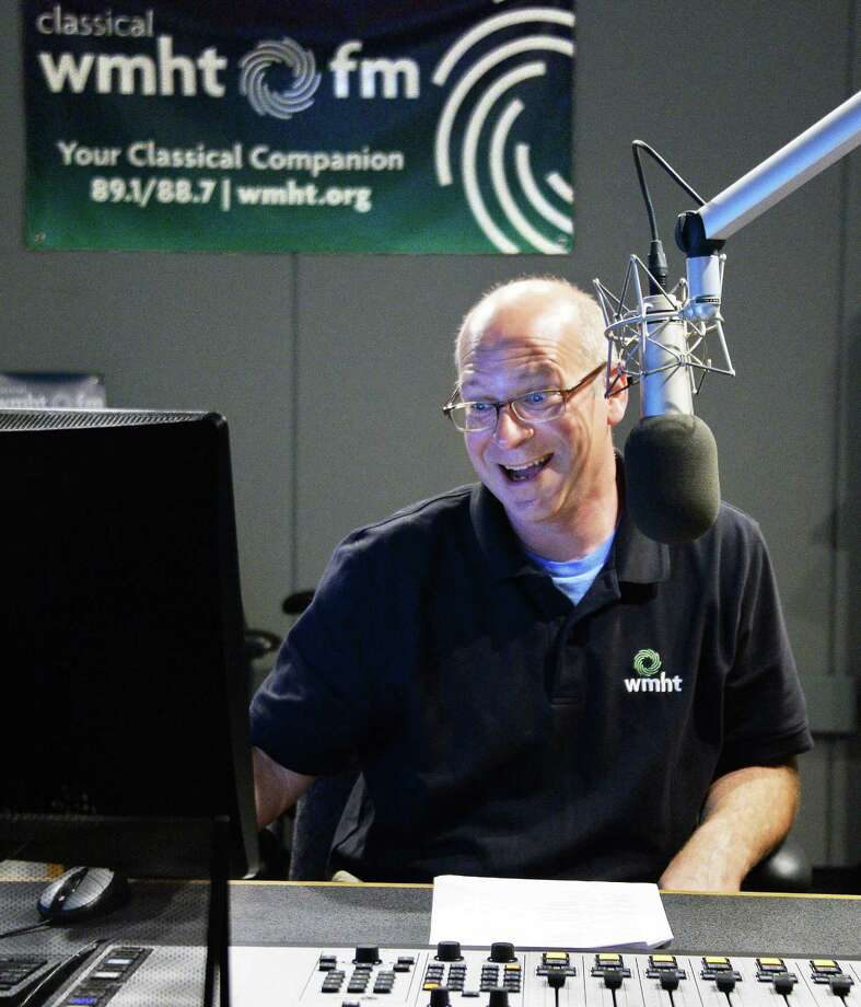 Radio Music Director Rob Brown in the WMHT studios Tuesday Sept. 5, 2017 in Troy, NY.  (John Carl D'Annibale / Times Union) Photo: John Carl D'Annibale / 20041447A