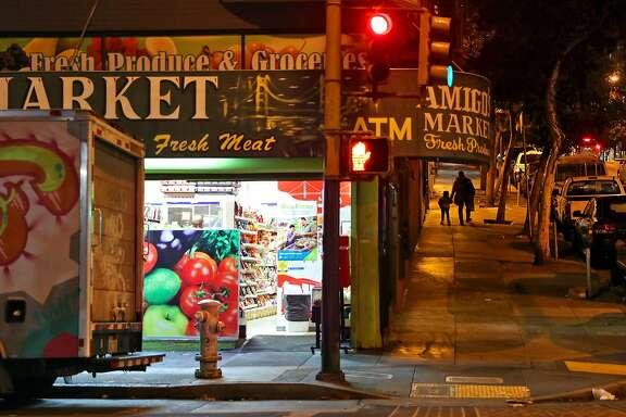 Leavenworth and Ellis Streets in the Tenderloin in San Francisco, Calif., on Wednesday, September 6, 2017.