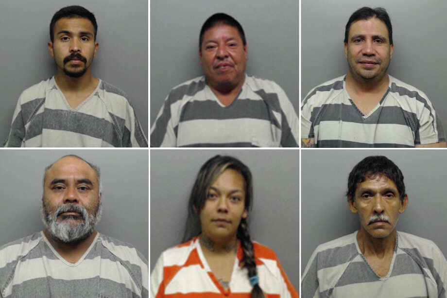 Click through this gallery to see mugshots of 13 arrested in the Webb County Sheriff Office's recent warrant roundup. Photo: Webb County Sheriff's Office