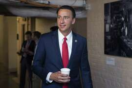 Rep. Ryan Costello, R-Pa., says it is unusual to see Trump administration members urging passage of the package.
