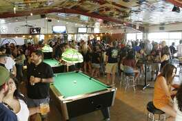 "The Hills & Dales Ice House runs a ""Sunday Funday"" promotion that attracts hundreds of people to the Northwest Side. People come from all over to play games and enjoy drink specials on the property at 15403 White Fawn Drive."