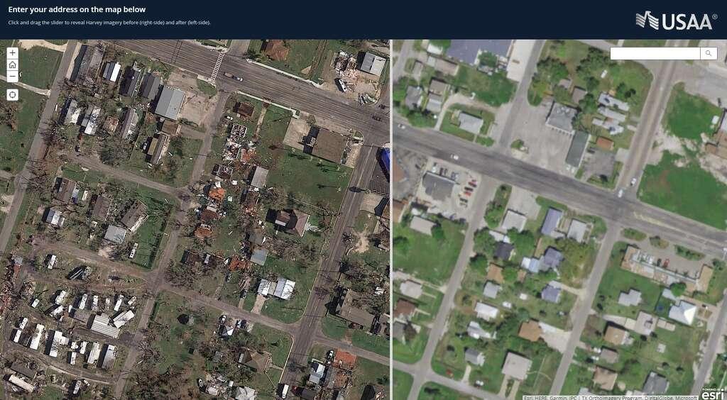 USAAs Satellite Imaging Tool Lets Anyone See Harveys Texas Coast - Satellite maps texas