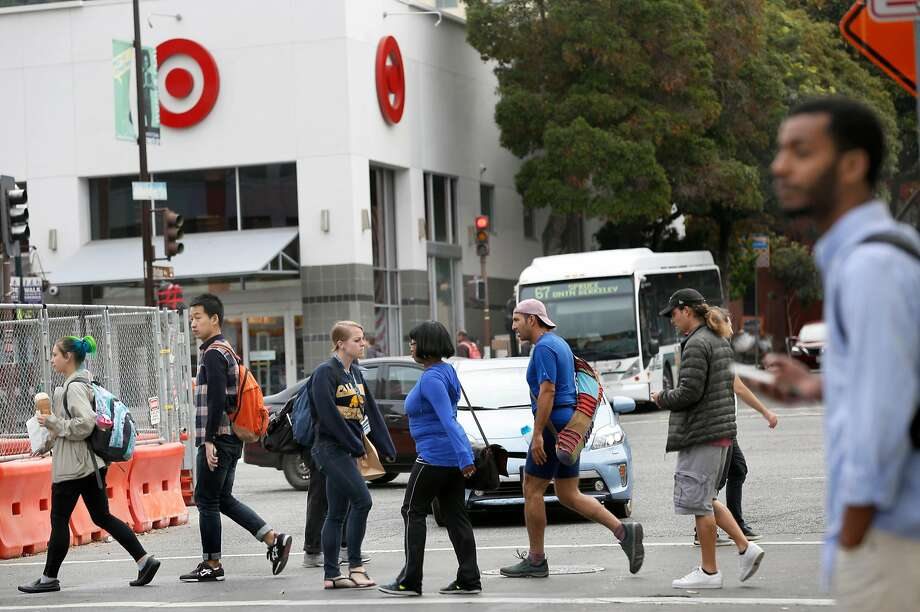The Target store on Shattuck Avenue in Berkeley stocks goods that are in high demand among college students. Photo: Liz Hafalia, The Chronicle