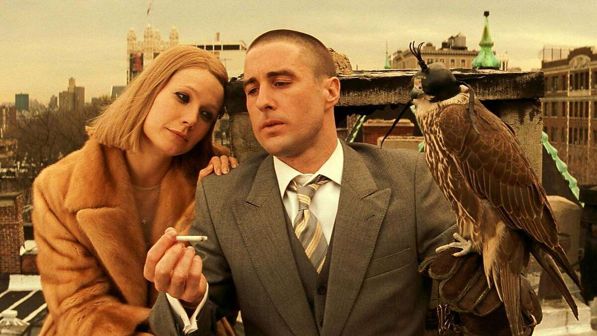 Gwyneth Paltrow and Luke Wilson are featured in the 2001 Wes Anderson hit