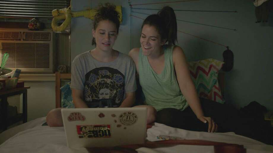 """""""Broad City"""" has won praise for its distinctive blend of outrageousness and heart. Photo: Broad City/Hulu, HO / Los Angeles Times"""