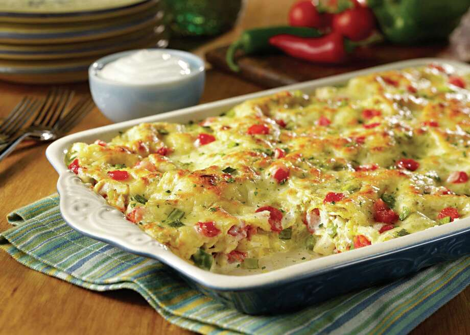 King Ranch chicken casserole is an easy, comfort dish that your whole family will enjoy. Photo: Family Features