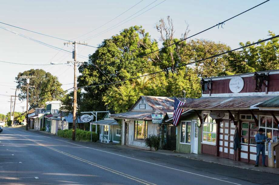 Though more and more boutiques are taking over quaint shops, Makawao's proud paniolo (cowboy) legacy remains evident. Photo: Jeanne Cooper, Freelance / online_yes